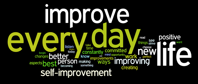 self-improvement wordle